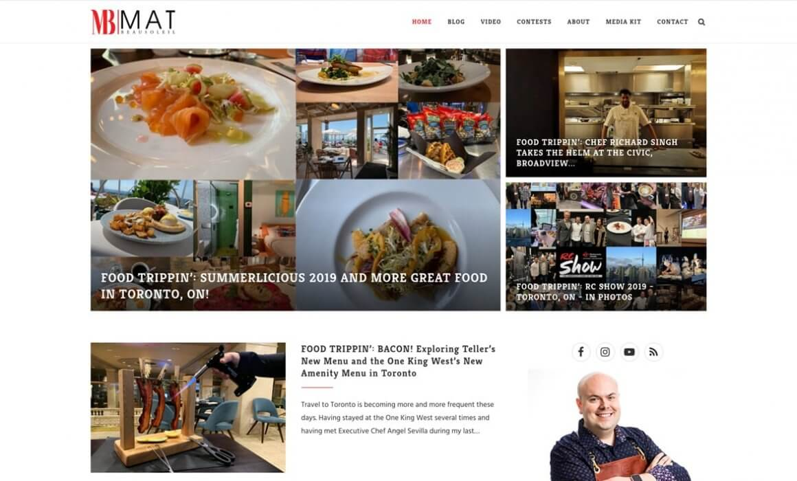 Mat Beausoleil, blog, summerlicious